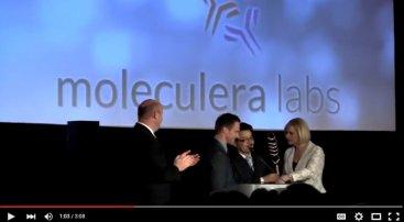 Innovator of the Year award – Dr. Craig Shimasaki, CEO, Moleculera Labs