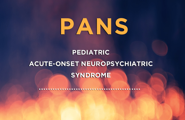 PANS Diagnostic Criteria